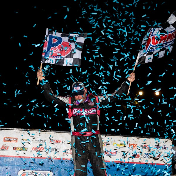HOMETOWN HERO: Harrison Wins 'Drive For 25' at Highland