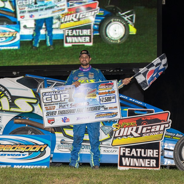 BACK TO BASICS: Sheppard Shows the Way at Weedsport for $7,500 Win