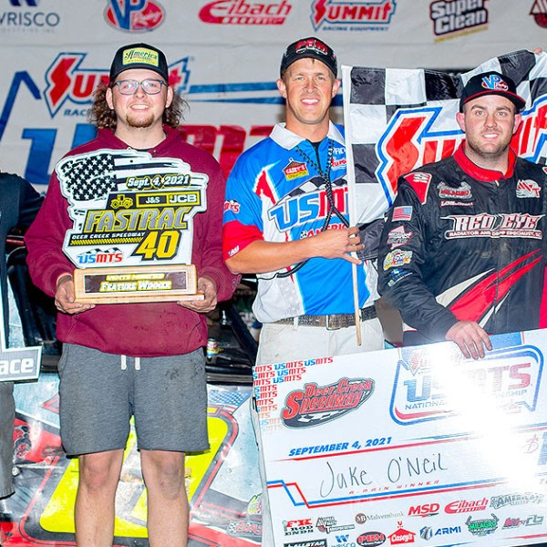 O'Neil conquers 'The Creek' again, cashes another $10,000 USMTS check