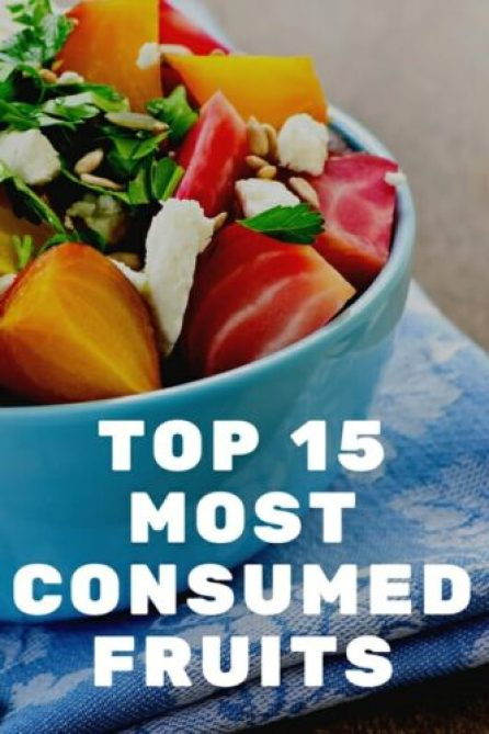 Most Consumed Fruits