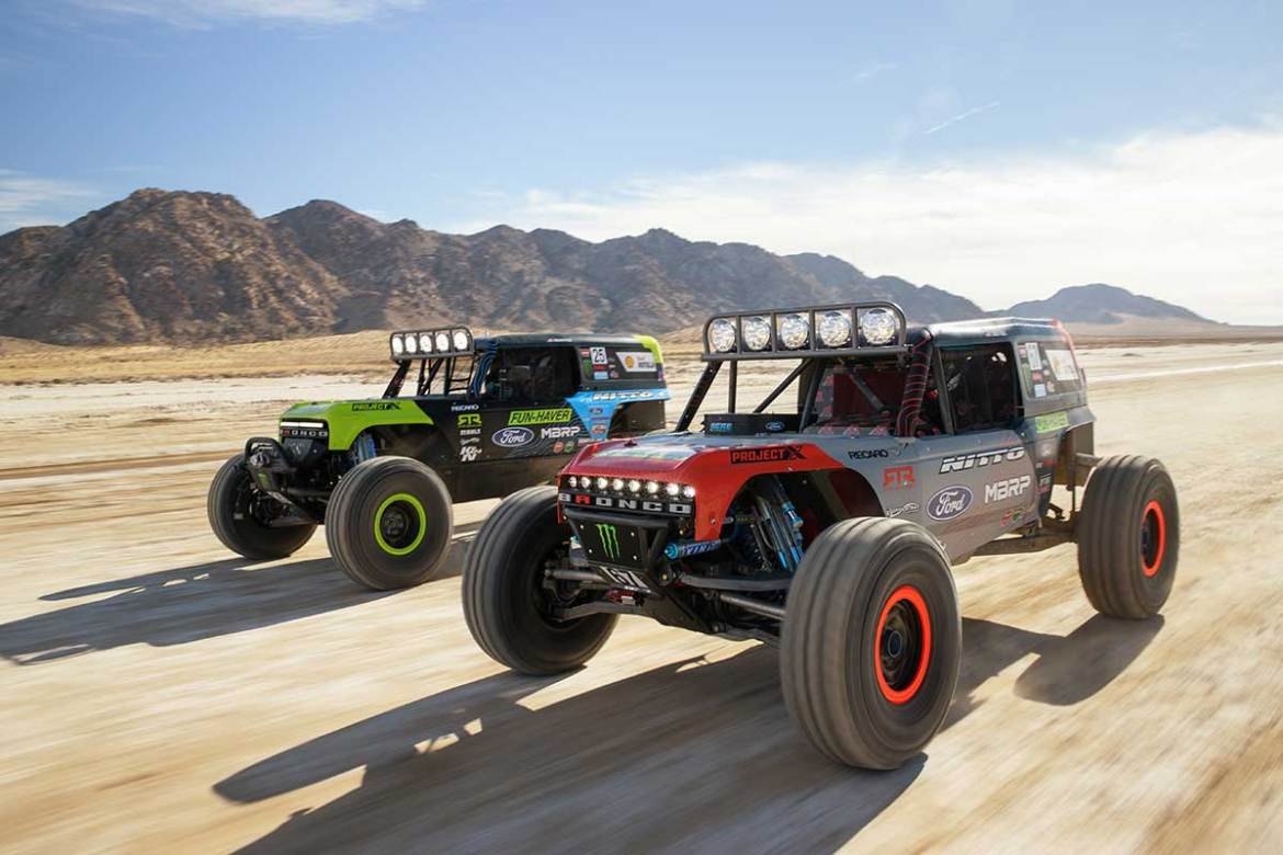 Ford Bronco to Race King of the Hammers