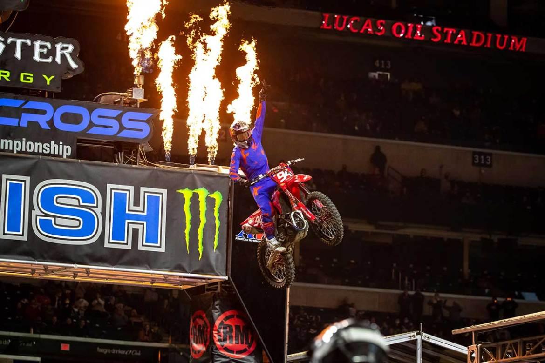 Ken Roczen Continues Supercross Winning Streak