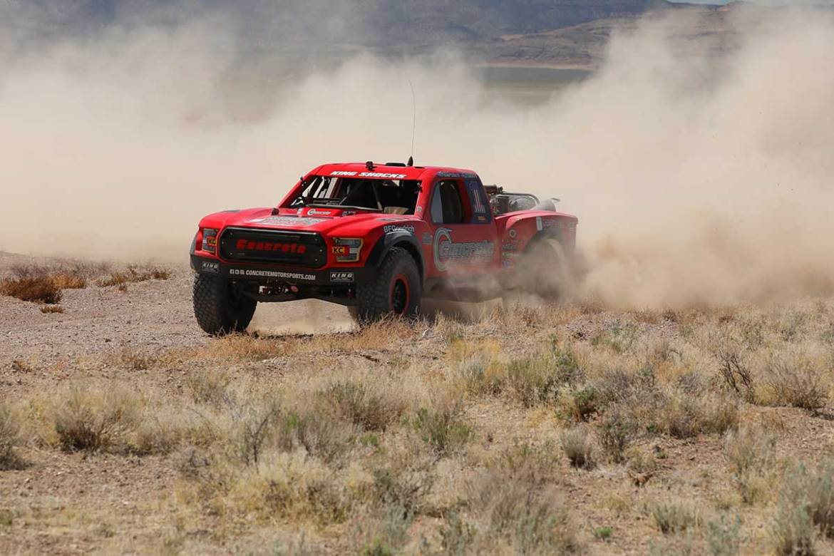 Concrete Motorsports Secures Another BITD Season Win at Silver State 300
