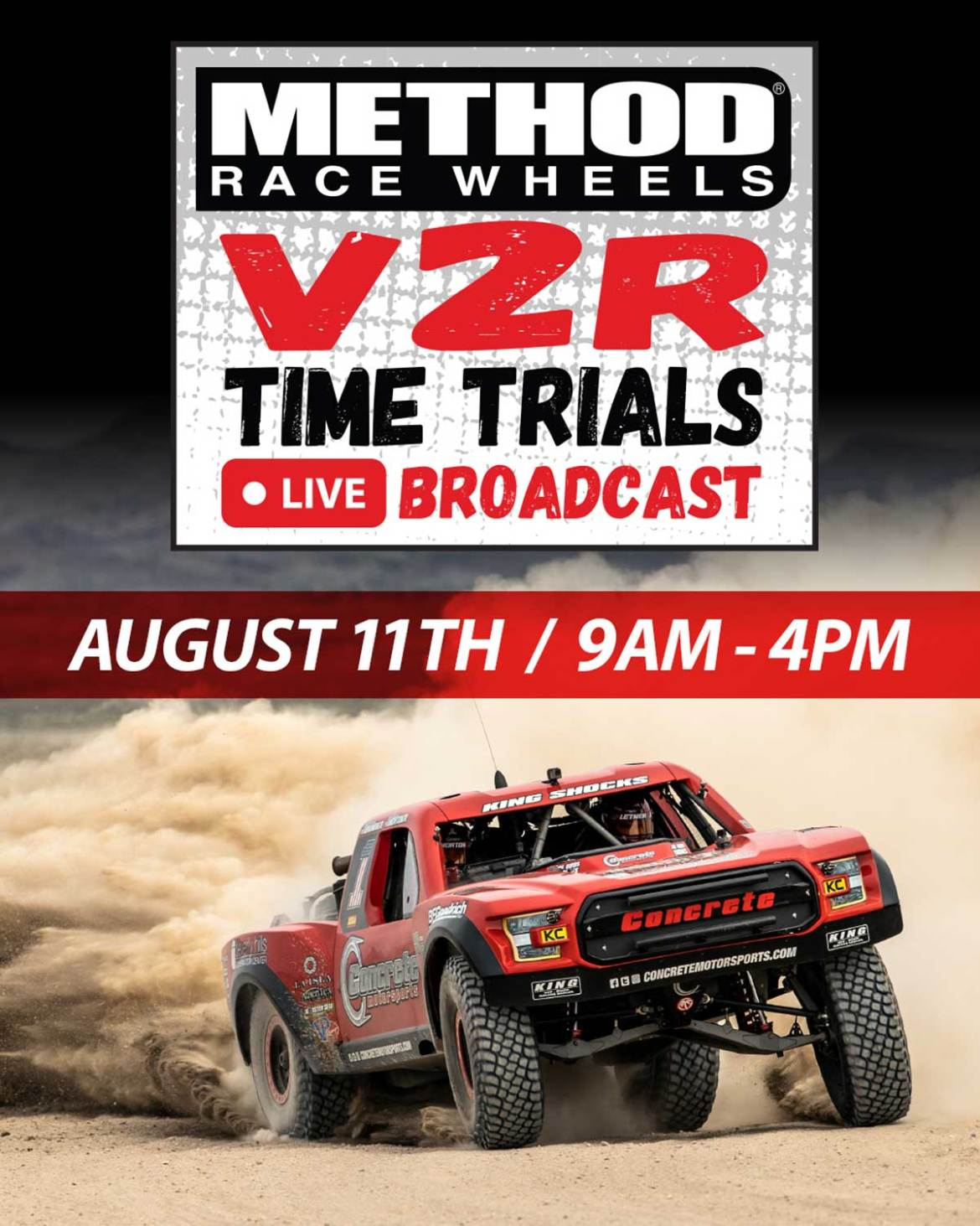 Watch Best in the Desert Vegas to Reno Time Trials LIVE!