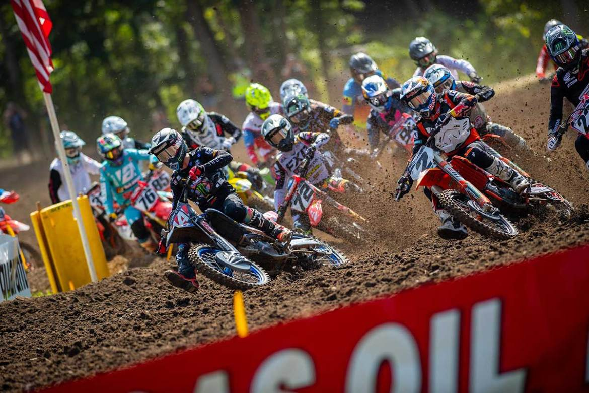 Eli Tomac Gets Lucky at Ironman National