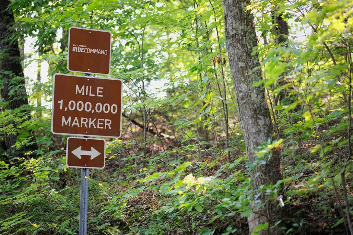Polaris Reaches One Million Miles of Marked Trails on Ride Command