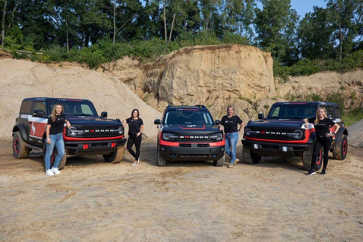 Ford Sending Three Broncos to Compete in Rebelle Rally