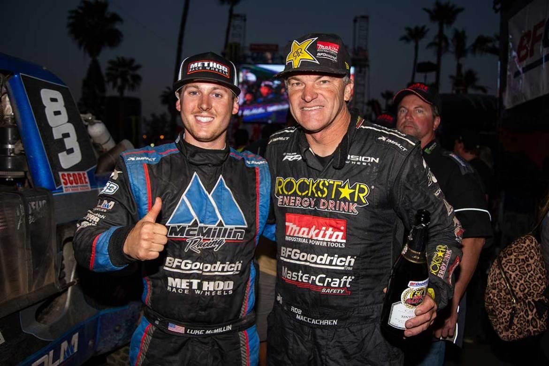 Double Mac Attack: Luke McMillin and Rob MacCachren Team Up for SCORE Baja 1000