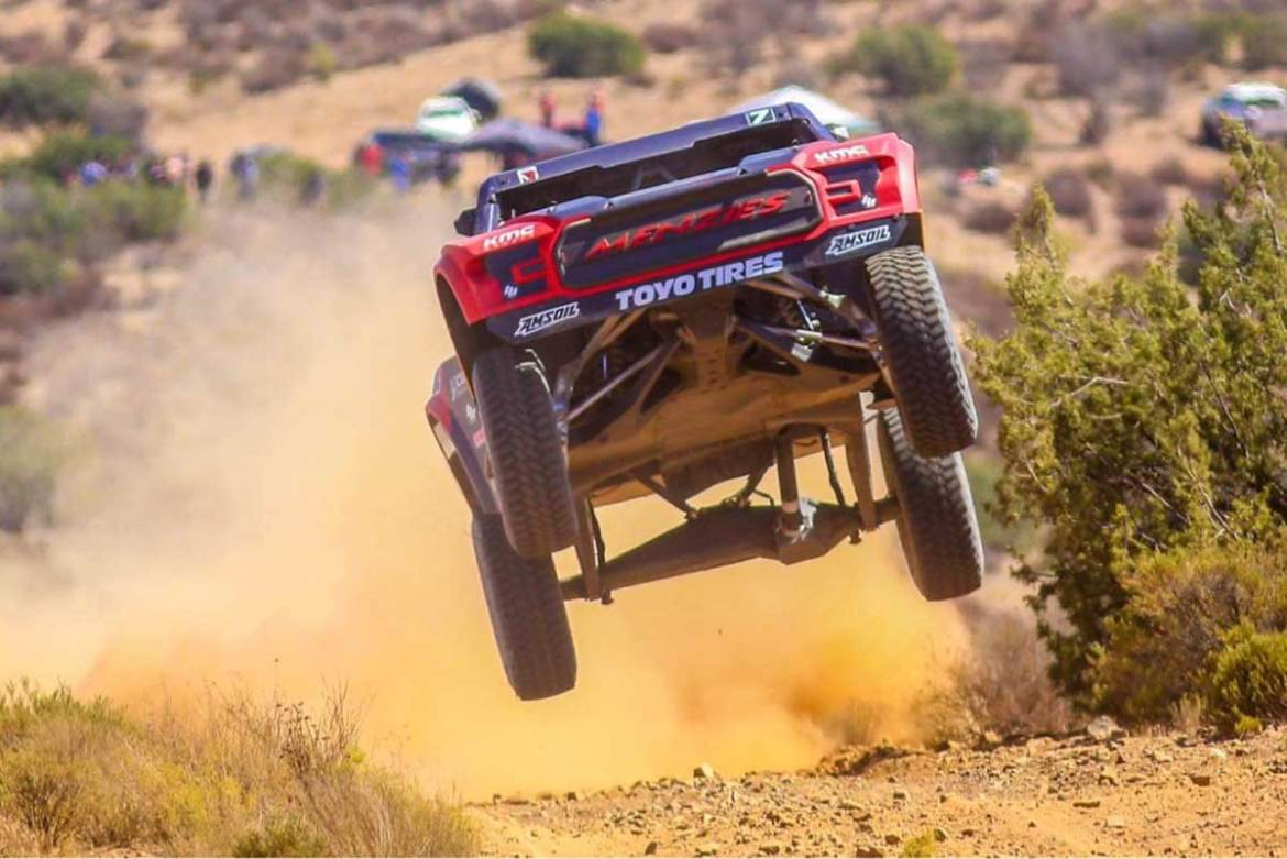 Bryce Menzies Edges Luke McMillin by a Hundredth of Second at SCORE Baja 400 Qualifying