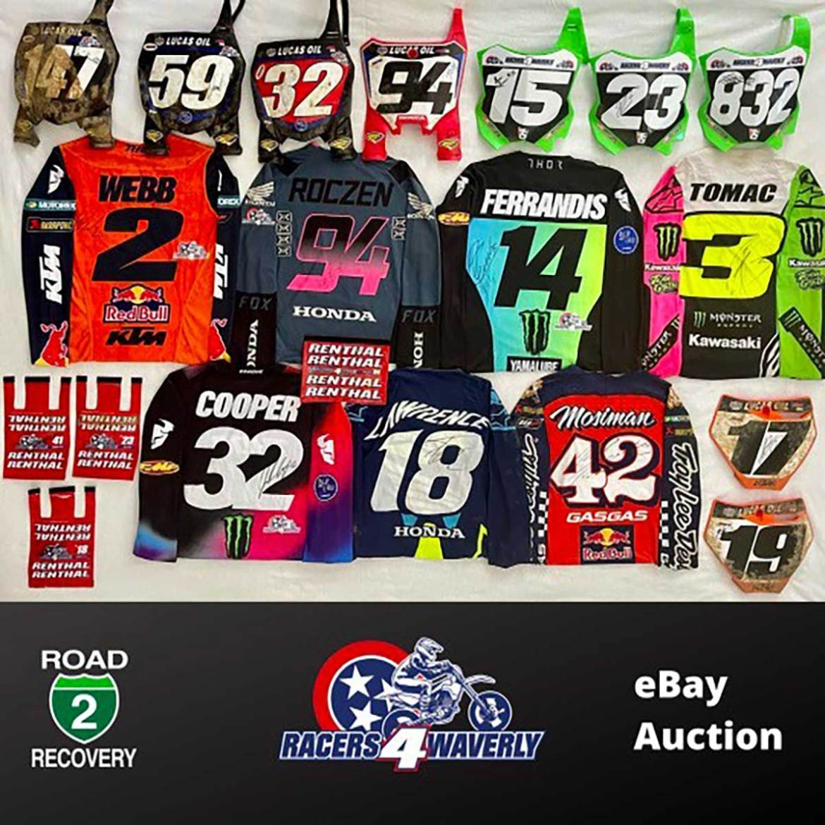 Auction to Benefit Waverly Flood Victims
