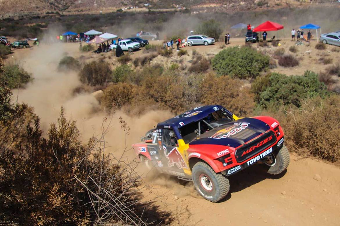 Bryce Menzies Comes Home with SCORE Baja 400 Win
