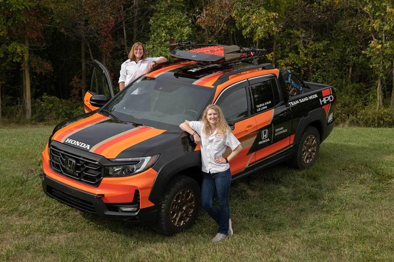 Honda Engineers Drive Ridgeline in Rebelle Rally