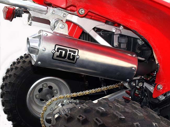 dg r series exhaust dirt wheels magazine