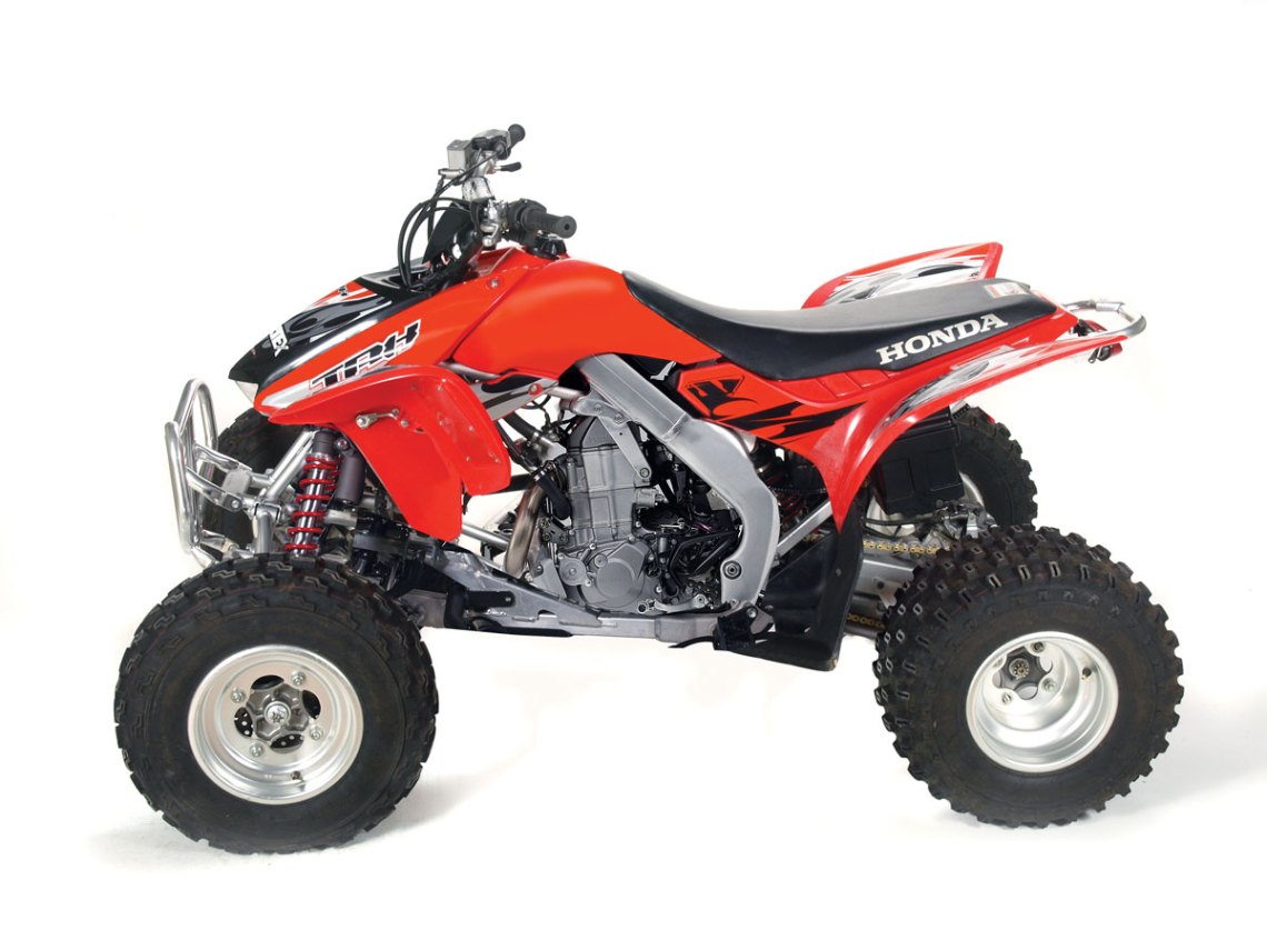 fuel injected honda trx450r | dirt wheels magazine