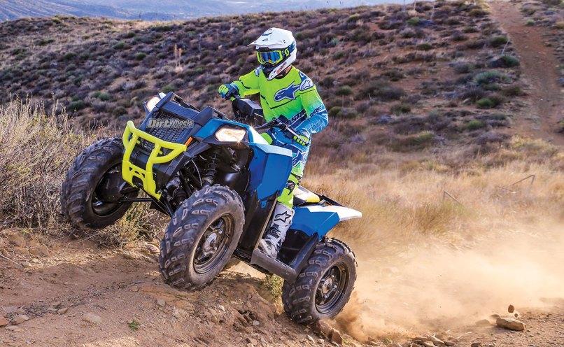 Polaris Scrambler 850 4 Dirt Wheels