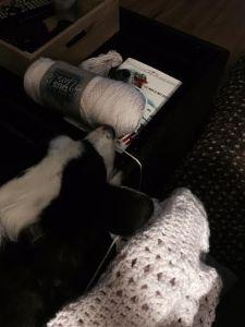 crochet baby blanket - pink.jack
