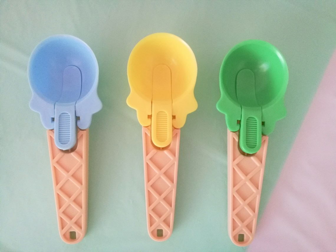 It Was So Easy Found These Cute Ice Cream Scoops At WinCo Of All Places Since Guests Werent Actually Scooping They Worked Perfectly