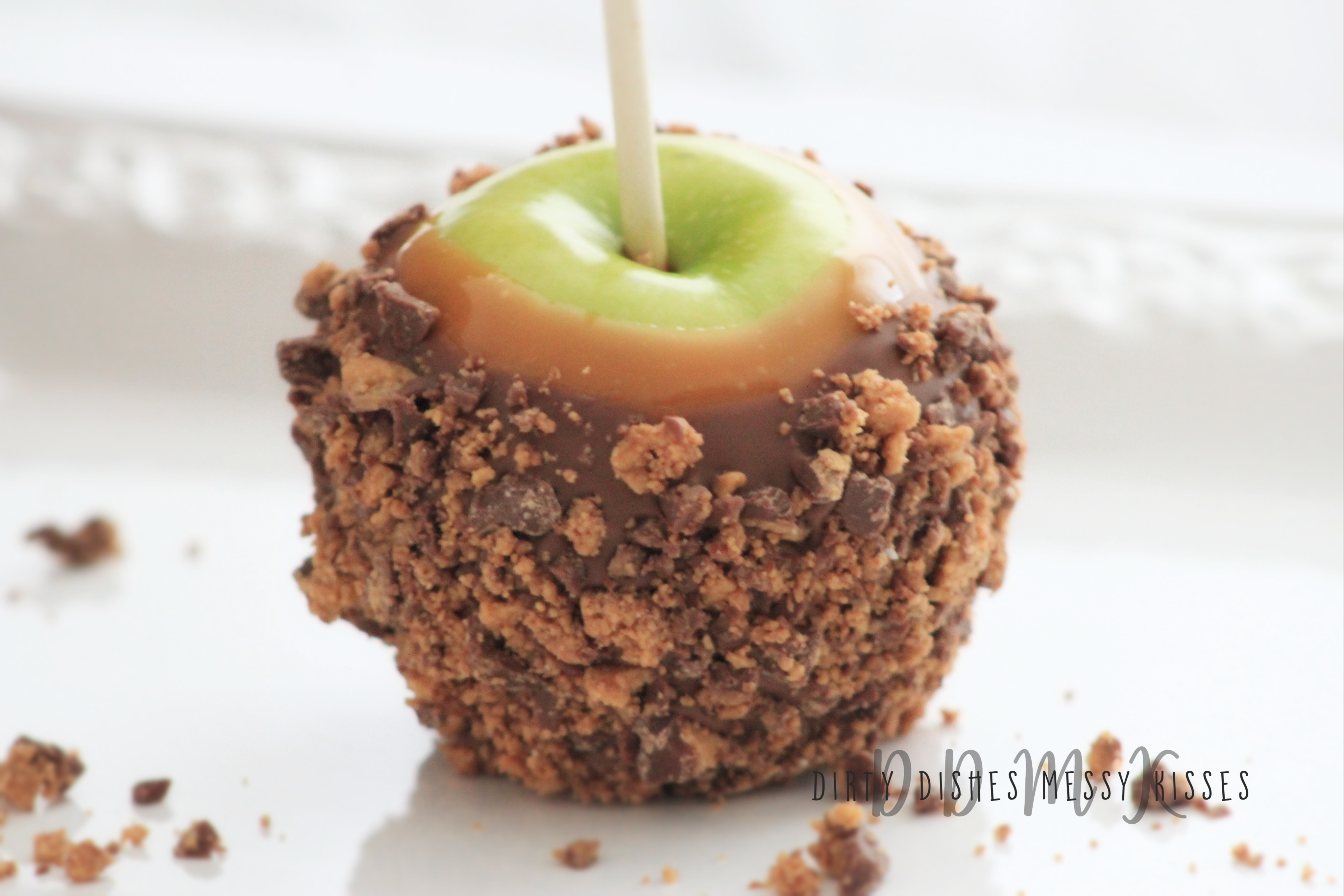 Reese S Caramel Apples Dirtydishesmessykisses Com