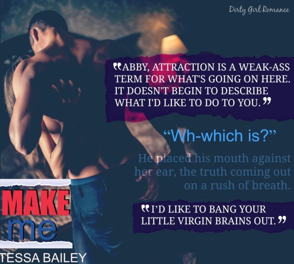 Make Me Teaser- Dirty Girl Romance