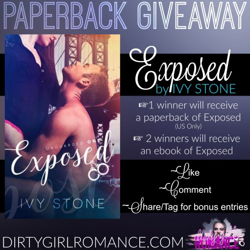 Exposed- Giveaway