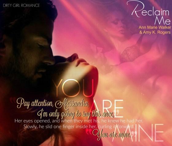 Reclaim Me teaser-DGR