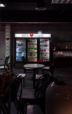 the red cafe in santa monica