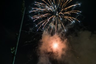 early 4th of july celebration at corsair field Santa Monica