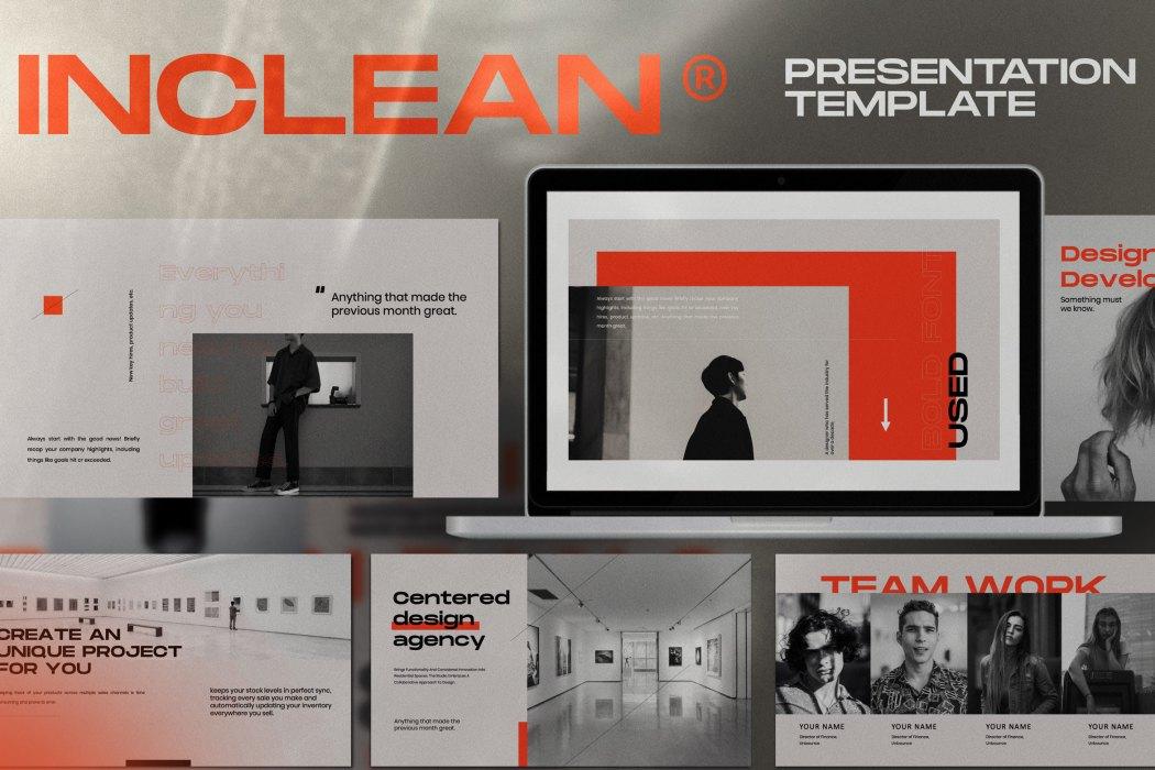 INCLEAN //  PRESENTATION