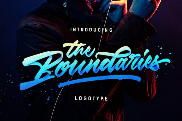 The Boundaries -Logotype Style