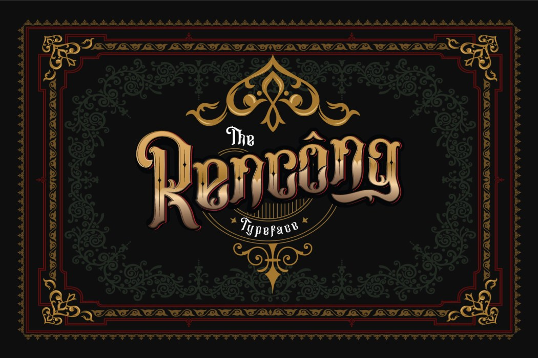 Rencong Typeface