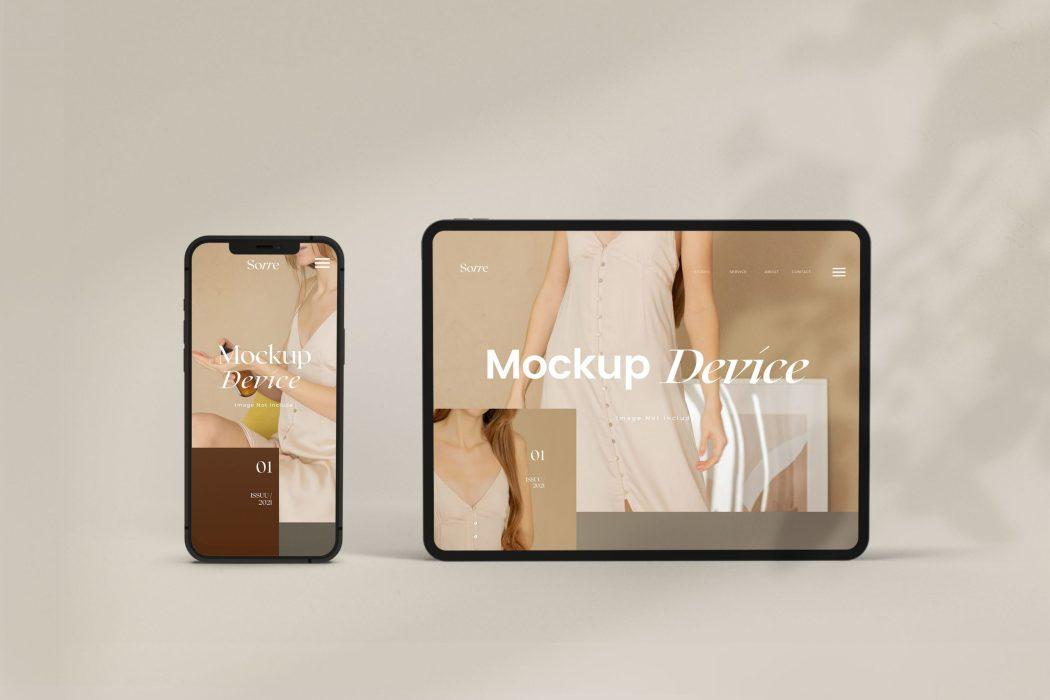 Sorre Customisable Device Mockups