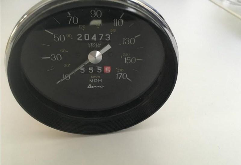 Dino 246 Speedometer USA  3