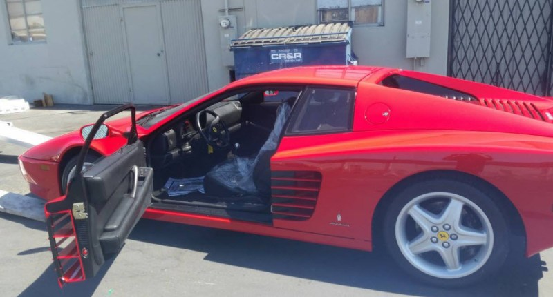 512tr 1994 for sale red black 4