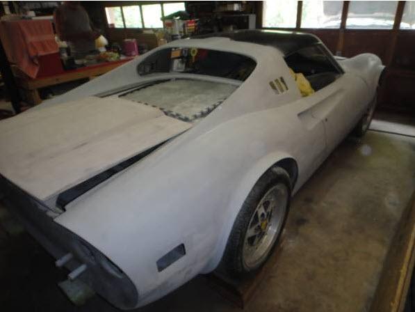 Dino 246 GTS Project 4