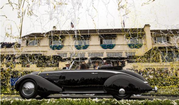Concours D'Elegance winner 1936 Lancia Astura Cabriolet 1