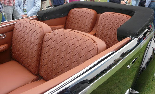 Concours D'Elegance winner 1936 Lancia Astura Cabriolet 4