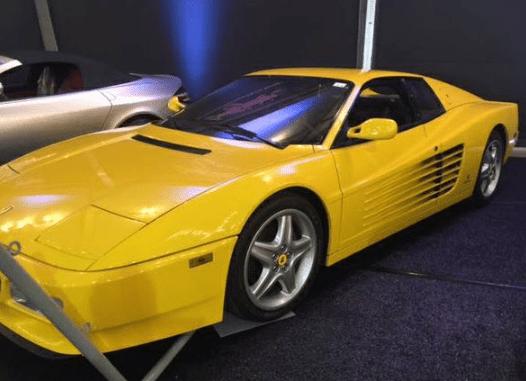 dirtyoldcars.com Ferrari 512TR 1992 Found For Sale Only 905 original miles