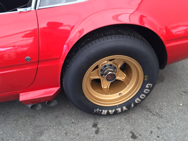 ferrari daytona race car wheel