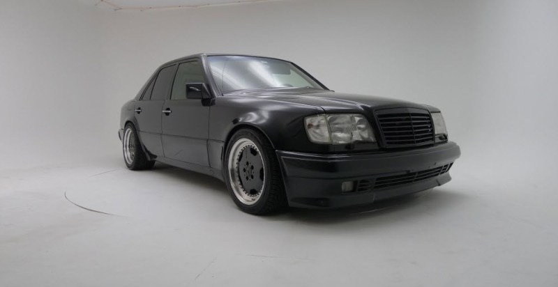 dirtyoldcars.com 1991 Mercedes Benz AMG Hammer E60 W124 body 1