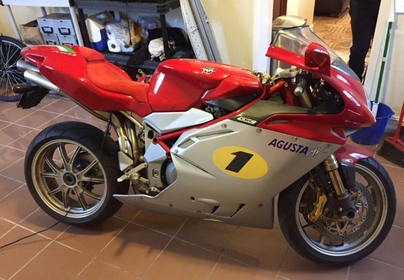 2005 mv agusta f4 ago for sale no 99 of 300 dirty old cars. Black Bedroom Furniture Sets. Home Design Ideas