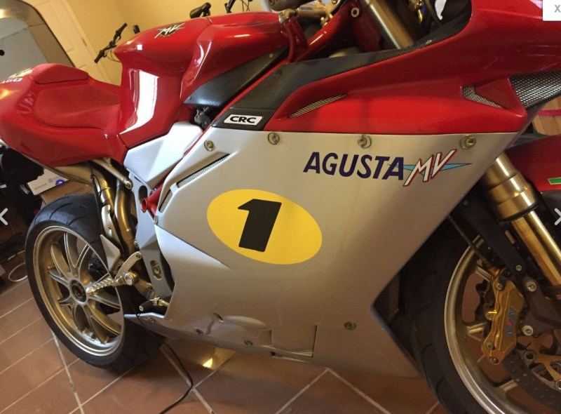 2005 MV Agusta F4 Ago For Sale No. 99 of 300