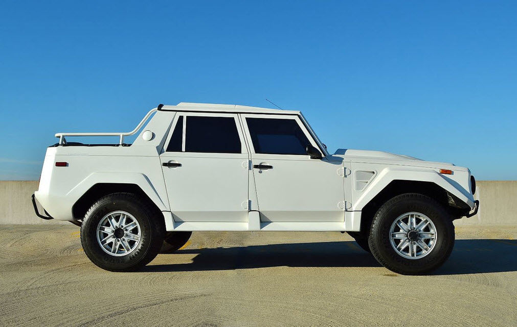 if the cb500 was a car, what make and model would it be?  Lamborghini-LM002-white-jersey-1