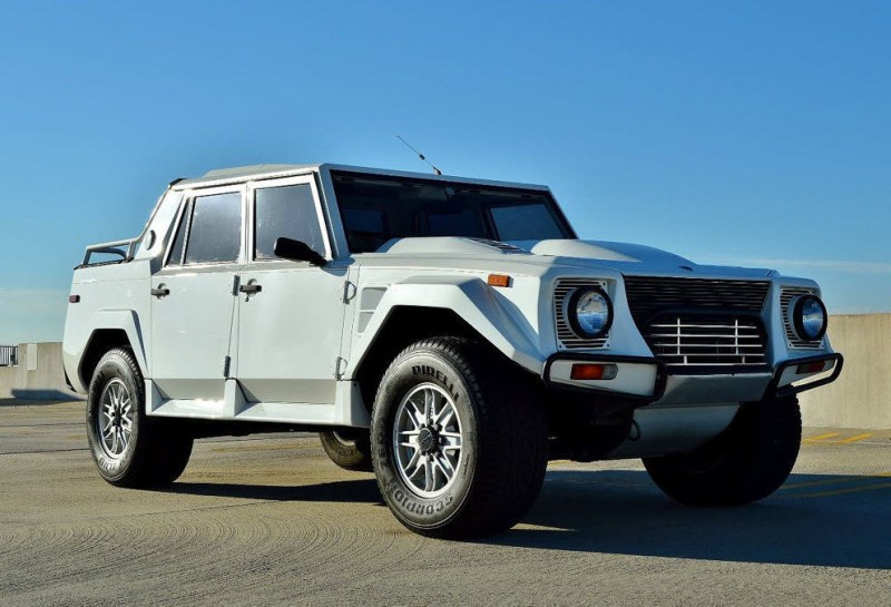 1990 White Lamborghini Lm002 For Sale In New Jersey Dirty Old Cars