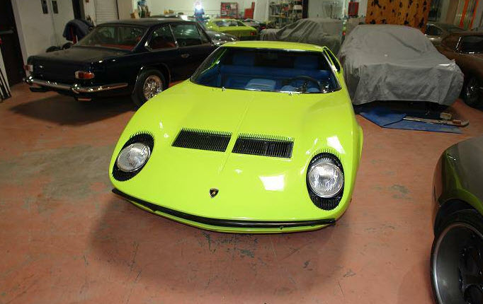 1969 Lamborghini Miura S For Sale In Los Angeles Dirty Old Cars
