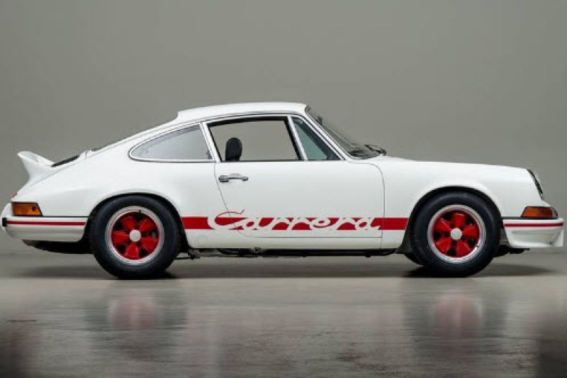 dirtyoldcars.com 1973 Porsche 911 RS 2.7 Found in New York 2