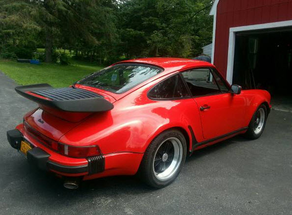 1986 Porsche 911 Turbo For Sale In New York Dirty Old Cars