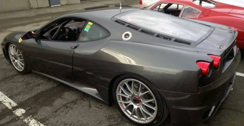 dirtyoldcars.com 2008 Ferrari F430 Challenge Car For Sale in San Francisco