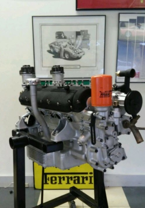 Ferrari 250 V12 Engine For Sale in Forida | Dirty Old Cars