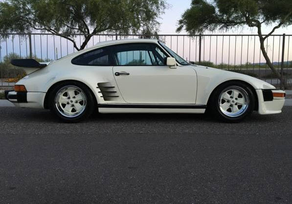 dirtyoldcars.com 1982 Porsche 930 Turbo Slant Nose Found in Arizona