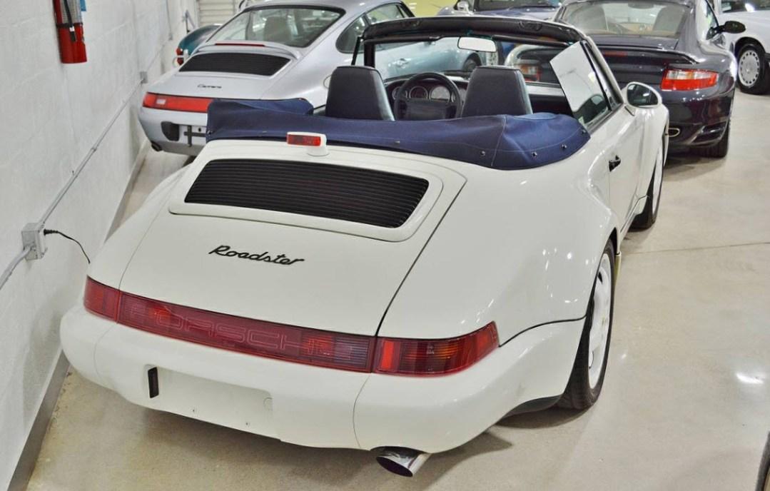 dirtyoldcars.com 1993 Porsche America Roadster Found in Chicago